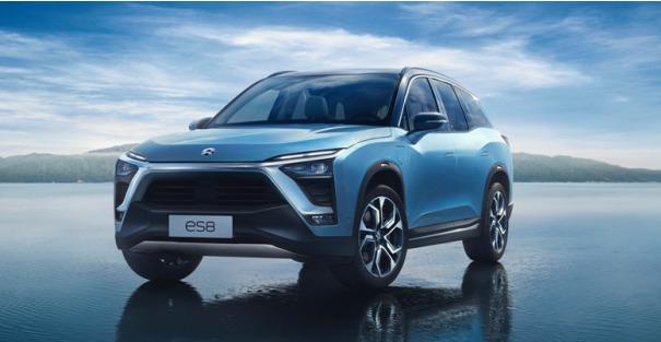 新能源蔚来汽车图片