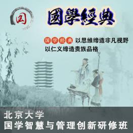 北京大学国学智慧与管理创新研修班