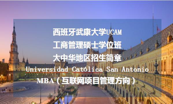 西班牙武康大学MBA(互联网项目管理方向)